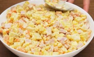 ингредиенты салата в салатнице