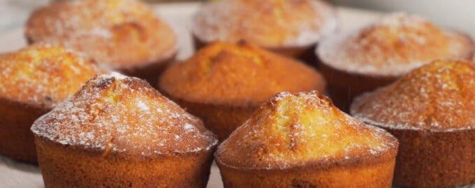 манные кексы на кефире рецепт