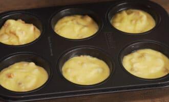 тесто для кексов в форме для выпечки