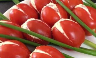 Тюльпаны из помидоров рецепт