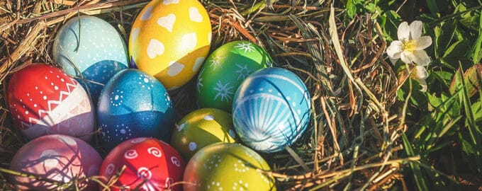 Идеи украшений яиц на Пасху