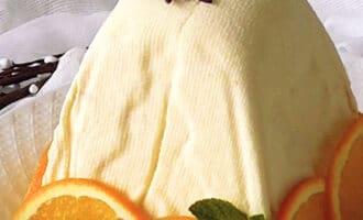 Творожная пасха с апельсином рецепт