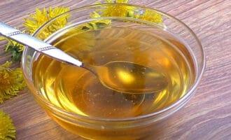 готовый мед из одуванчиков