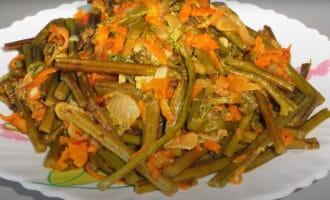 готовый салат из папоротника
