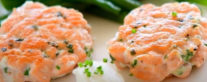 Котлеты из красной рыбы рецепт