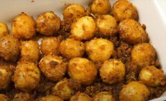 Картофель с сухарями