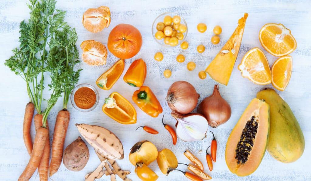 В каких продуктах содержаться каротиноиды