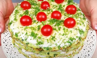 готовый кабачковый торт