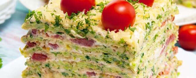 торт из кабачков рецепт
