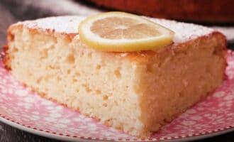 готовый лимонный кекс