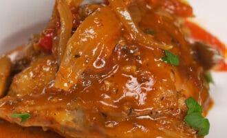 Курица с томатами и грибами рецепт