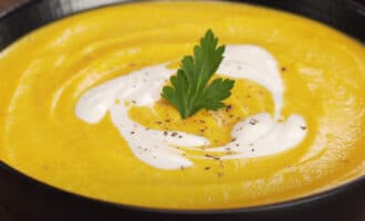 Крем суп из тыквы рецепт