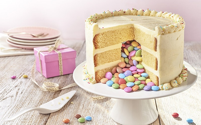 Торт с сюрпризом