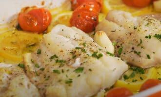 Белая рыба в духовке
