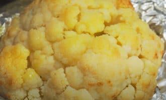 Цветная капуста с маслом