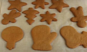 Готовое имбирное печенье
