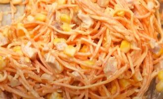 Быстрый салат на праздники