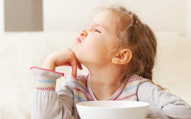 Еда ребенка во время болезни