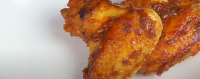 Крылья в томатном соусе с медом
