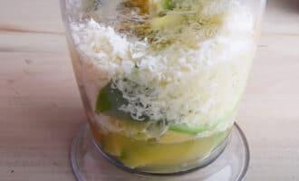 Ингредиенты для майонеза из авокадо