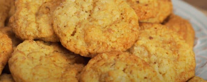Овсяное печенье с орехами