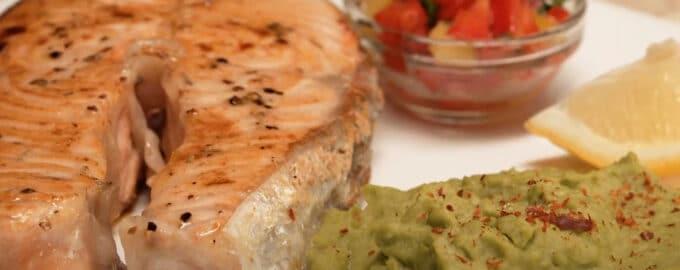 Стейк из лосося рецепт
