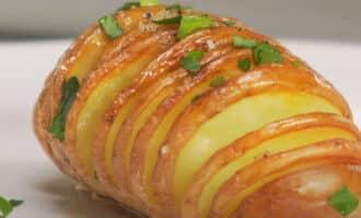 Картофельные гармошки