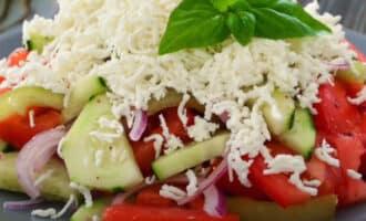 Болгарский салат Шопский