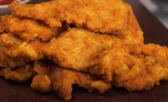 Курица обжаренная во фритюре