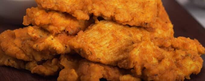 Курица в панировке