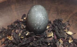 яйца каркаде 50 минут окраски