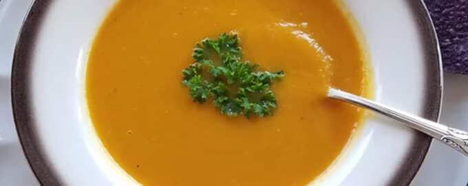 Тыквенный мускатный суп